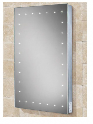 Hib Astral Led Portrait Mirror, Charging Socket, Steam Free, Sensor Switch